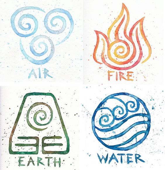 Air Fire Earth Water