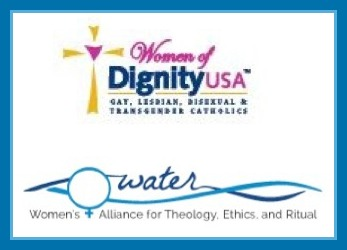 Dignity and WATER logos