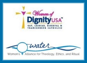 Dignity and WATER logos