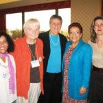 Geraldina Cesedes Ulloa,  Elisabeth Schussler Fiorenza, Mary E. Hunt, Maria Pilar Aquino, and Lucia Ramón Carobonell