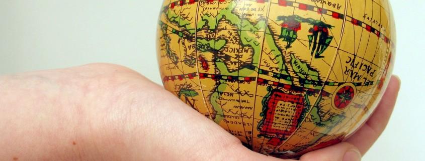 globe hand