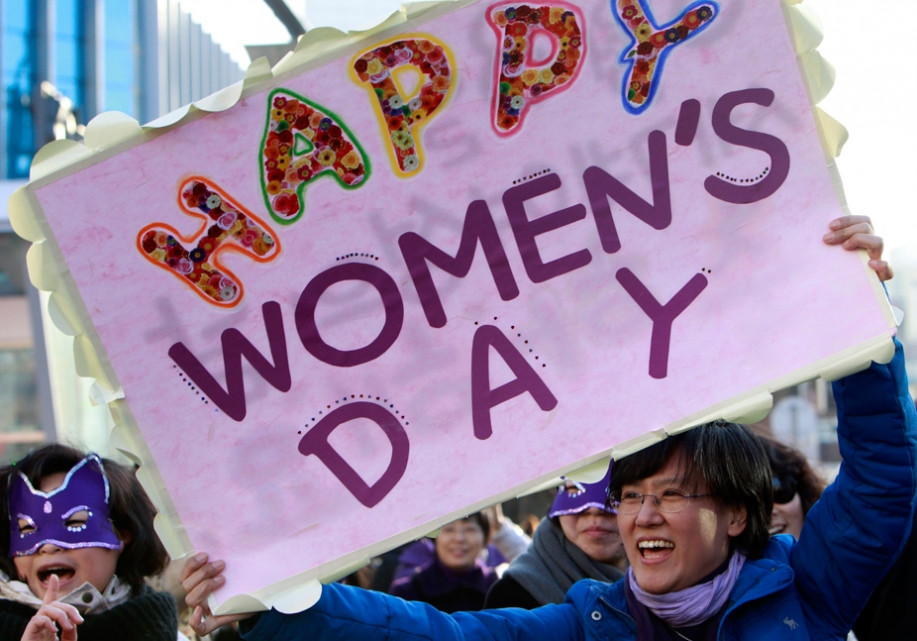 happy women's int day