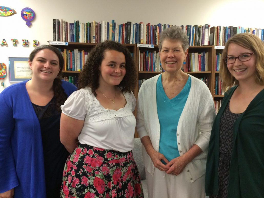 Cathy Jaskey, Jacqueline Small, Liz Thoman, and Ciara Chivers