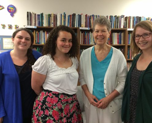 Cathy Jaskey, Jacqueline Small, Liz Thoman, and Ciara Chivers